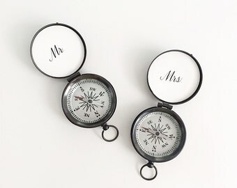 Mr and Mrs Compass set of 2