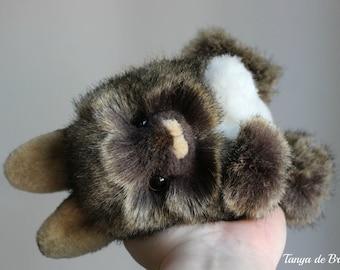 Chocolate Brown Bunny - OOAK