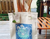 Richmond Grow Your Own Roots Tote - Blue