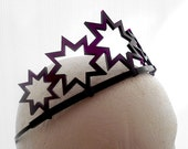 Super Star Tiara - Custom Colors, Adult or Child Crown, Free Shipping
