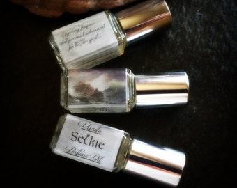 Selkie Perfume Oil - Violet Lotus Rose Waterlily White Musk