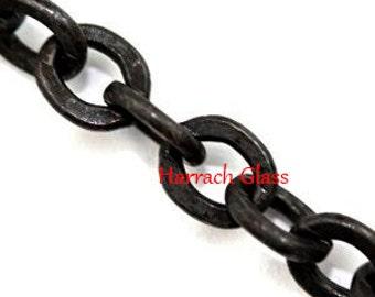 5 Feet of Black Box Chain
