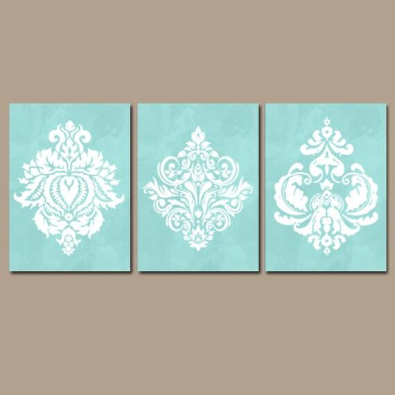 Bathroom Wall Decor Aqua : Aqua bedroom wall art canvas or prints watercolor