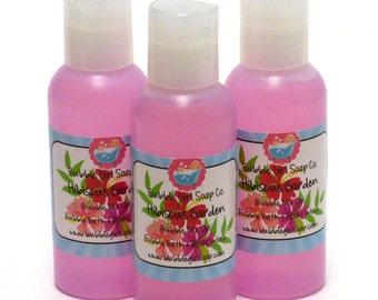 Hibiscus Garden Body Wash Bubble Bath Shower Gel 2 Oz. Travel Size Bubble Me Up