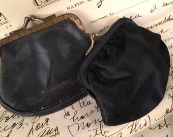 Pair of Vintage Change or Coin Purses