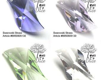VINTAGE Swarovski Strass 8950 Swing 30mm Pendant - Choose your color