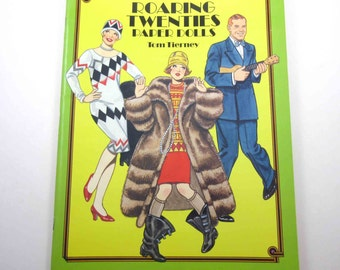 Roaring Twenties Paper Dolls Vintage Dover Paper Doll Book for Children by Tom Tierney