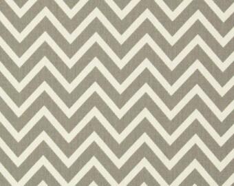 Destash Fabric Remnants. Premier Prints Storm Gray COSMOS CHEVRON Fabric Remnant.  26 inch piece. Home Decor Material Scrap Pieces. Sewing.