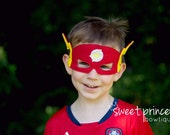 Lightning Fast Super Hero Felt Mask