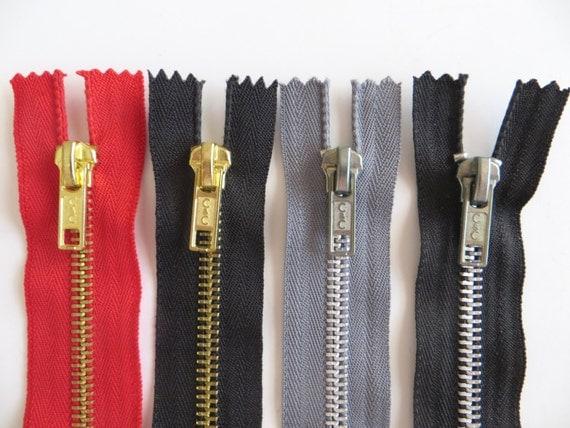 Four Metal Teeth Zippers