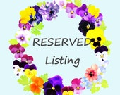 RESERVED for  OdinsBeadHall