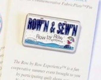 Row by Row H2O 2015 Rectangle Lapel Pin