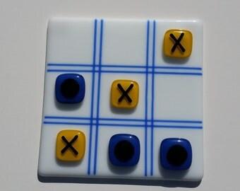 Tic Tac Toe - Fused Glass Game