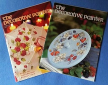 Two Issues of The Decorative Painter Magazine - issue 2 and issue 5, 1996
