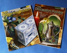 Two Issues of The Decorative Painter Magazine - 2002, issues 4 and 6