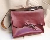 Rad Juli All-Leather Laptop Book Bag Satchel