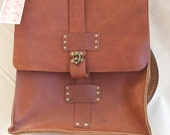 REserved! Rad Juli All-Leather Backpack Laptop Book Bag Satchel
