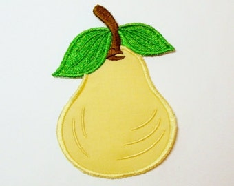 Pear Embroidered Applique DIY Patch -100042