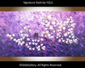 "Art print Poster Print, Giclee prints & fine art giclee prints modern wall art wall decor wall hangings ""Lavender Dreams"" by QIQIGallery"