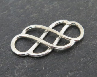 Sterling Silver Celtic Connector 19mm (CG7778)