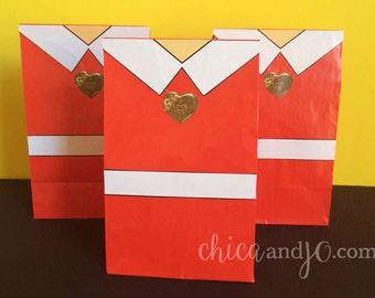 Annie Favor Bags -- DIGITAL -- Movie Party Favor Bags Printables
