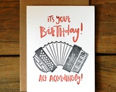 Accordion Birthday