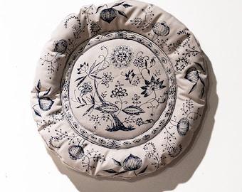 Blue Onion Plate