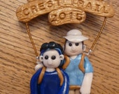 Pacific Crest Trail Hiking Ornament Made to Order