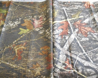 TRUE TIMBER 100% woven cotton camo camouflage fabric New Conceal brown gray