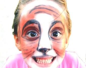 5pc Natural Face Paint Kit Non-toxic, DYE-free, Vegan Halloween Costume Makeup Set