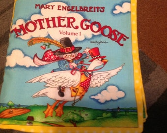 Mother Goose Nursery Rymes fabric book