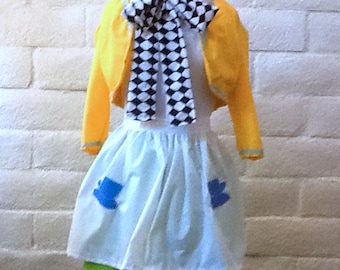 Mad Hatter Tea Party Dress in Adult Sizes