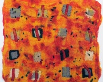 Paprika Construction Zone ~ textile arts