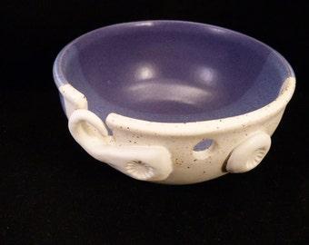 WheelWorksPottery - Yarn Bowl - Dual Function - Purple Rain