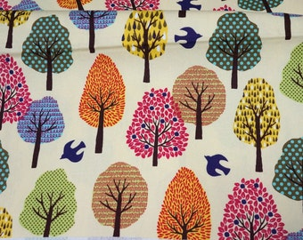 Beautiful Autumn leaves Print Half meter 50 cm by 106 cm or 19.6 by 42 inches  nc54