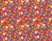Windham Fabrics Briar Rose Calico in Orange- Half Yard