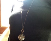 Time Bubble Necklace - Large