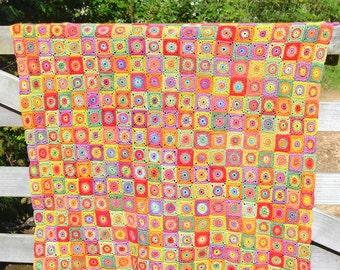 Cornucopia -  Crochet Afghan/Blanket - PDF CROCHET PATTERN