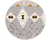 Dream Catcher (stone) Crib Sheets, Changing Pad Covers, Indie Fabric Printed Just for You