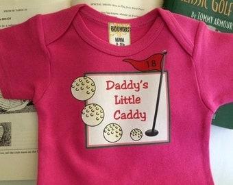 Daddy's Caddy Baby bodysuit/Daddy's Caddy bodysuit/Daddy's Caddy Baby Gift/Daddy's Caddy bodysuit for baby girls/Baby Girls Bodysuit