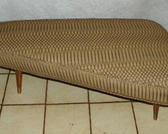 Mid Century Triangular Footstool / Ottoman / Coffee Table (ST131)