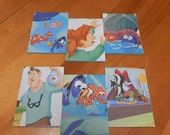 Up cycled Note Pads Party Favors Disney Finding Nemo