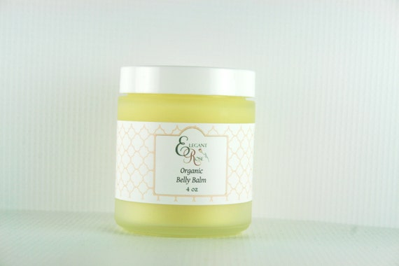 Organic Creamy Belly Balm  - Great for Stretch Marks