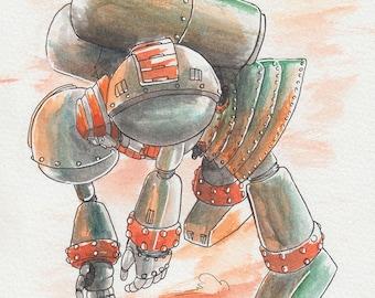 Giant Robo Punch, Okay? — PRINT