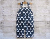 SUPER SALE - Overall in Navy Teepee Tent