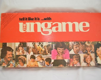 Vintage THE UNGAME Christian Version 1975 complete