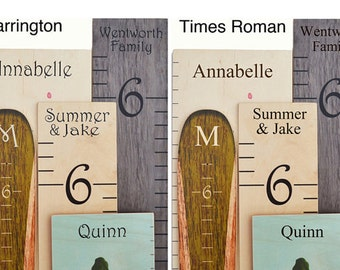 Growth Chart Personalization