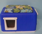 Cat Pod, Outdoor Cat House, shelter, bed, condo, sanctuary