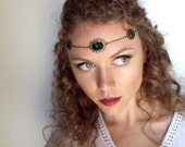 Medieval Circlet in Bronze and Emerald