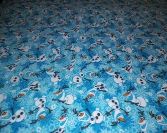 Olaf from Frozen Fleece Throw Blanket